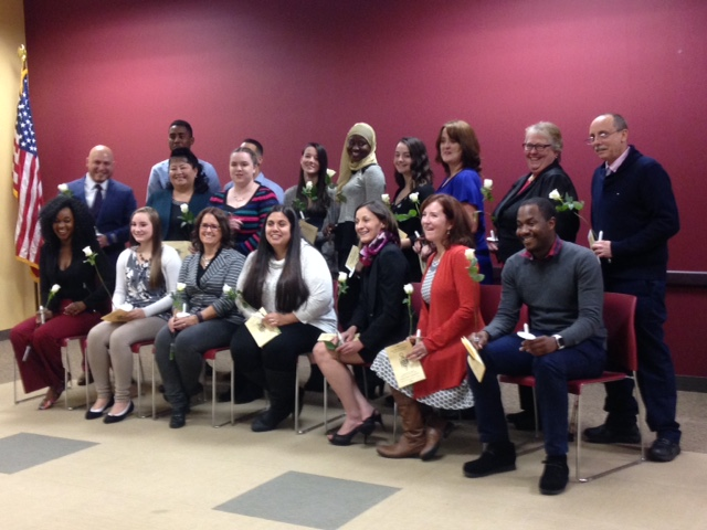Fall 2016 PTK Inductees
